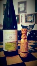 2014er Philosophie Sonnenuhr Riesling Kabinett 9,5 Vol % Alkohol