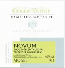 2020 Novum Müller Thurgau lieblich 9,5 Vol% Alk