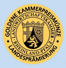 2015er Emotion Premium Zeltinger Sonnenuhr Riesling Auslese GOLDENE KAMMERPREISMÜNZE