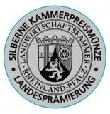 2018 Rivaner Classic 12,5 Vol% Alk silberne Kammerpreismünze