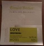 2018 Love Kerner Qualitätswein lieblich 10.0 Vol% Alk