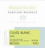 2020 Cuveé blanc Qualitätswein halbtrocken 12,0 Vol% Alk