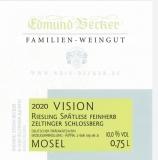 2020 Vision PREMIUM Zeltinger Schloßberg Riesling Spätlese feinherb 9,0 Vol% Alk