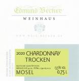 2020 Chardonnay Qualitätswein trocken 13,5 Vol% Alk