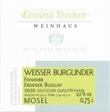 2020 Weisser Burgunder Qualitätswein feinherb 12,0 Vol% Alk
